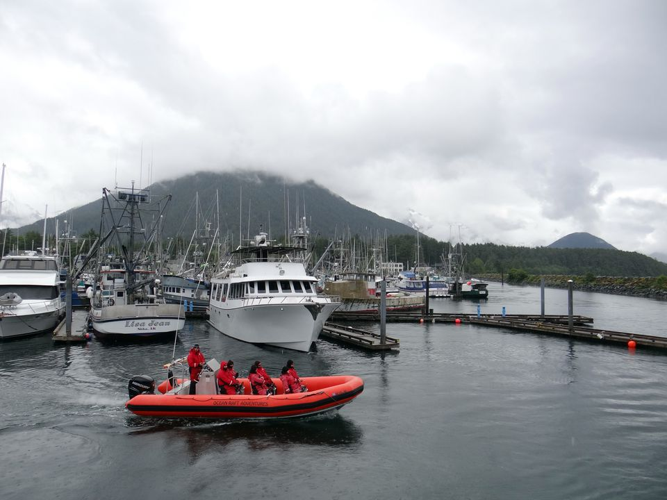 Harbor in Sitka, Alaska