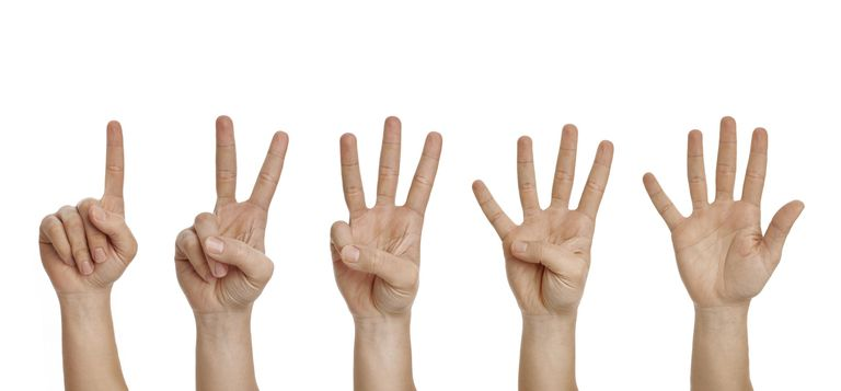 Counting to five