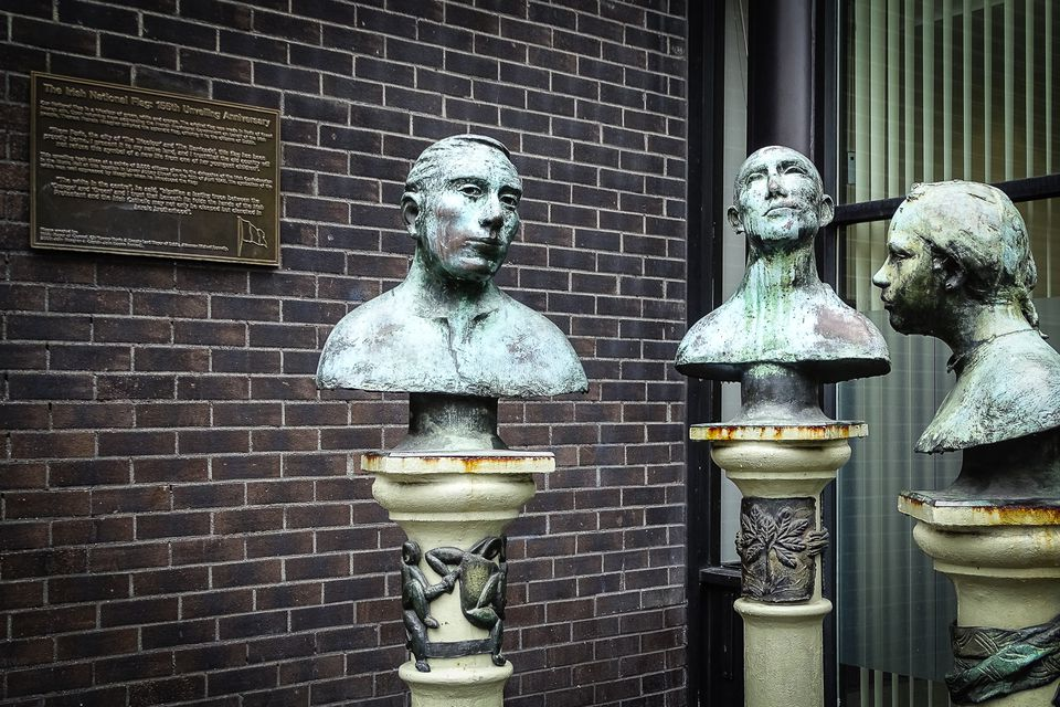 Irish busts