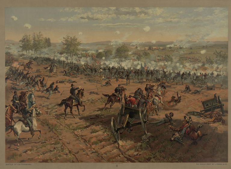 Prang Painting-Gettysburg