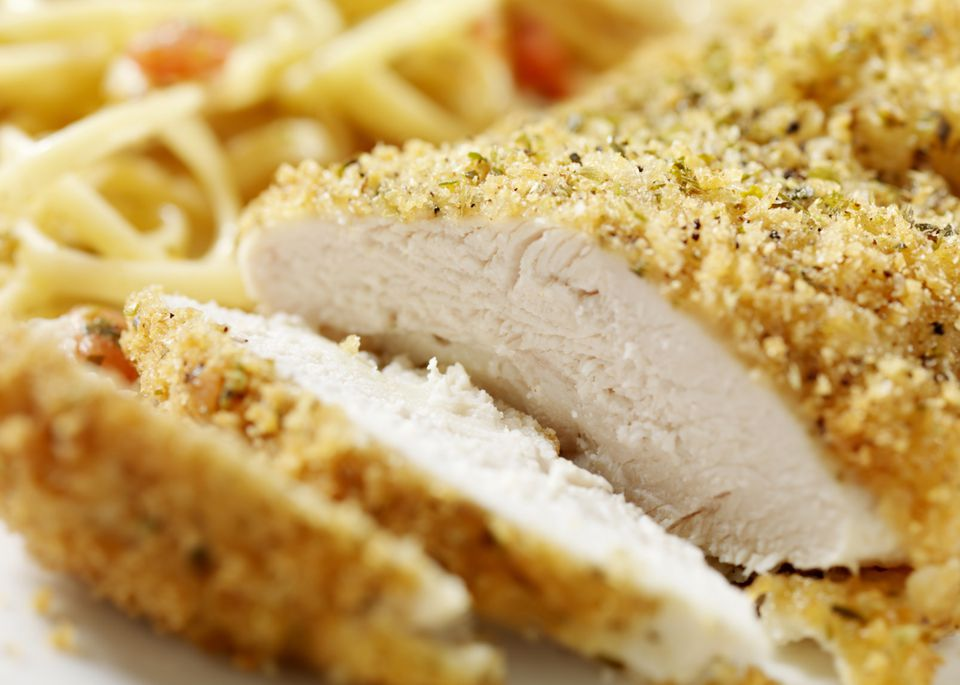 parmesan coated chicken