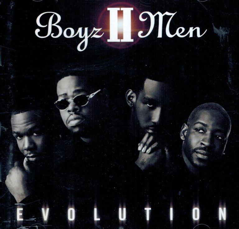 Boyz II Men Evolution album cover