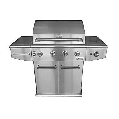 Amana 4-Burner Stainless Gas Grill Model# AM30LP