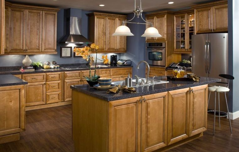 Types of kitchen islands for Kitchen ideas no island