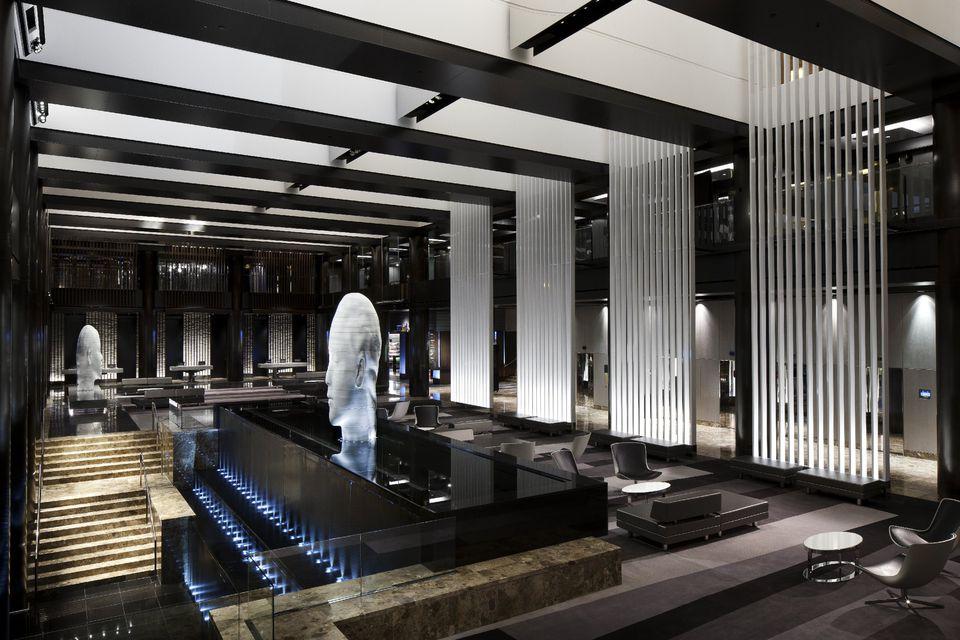 Lobby of the Grand Hyatt New York