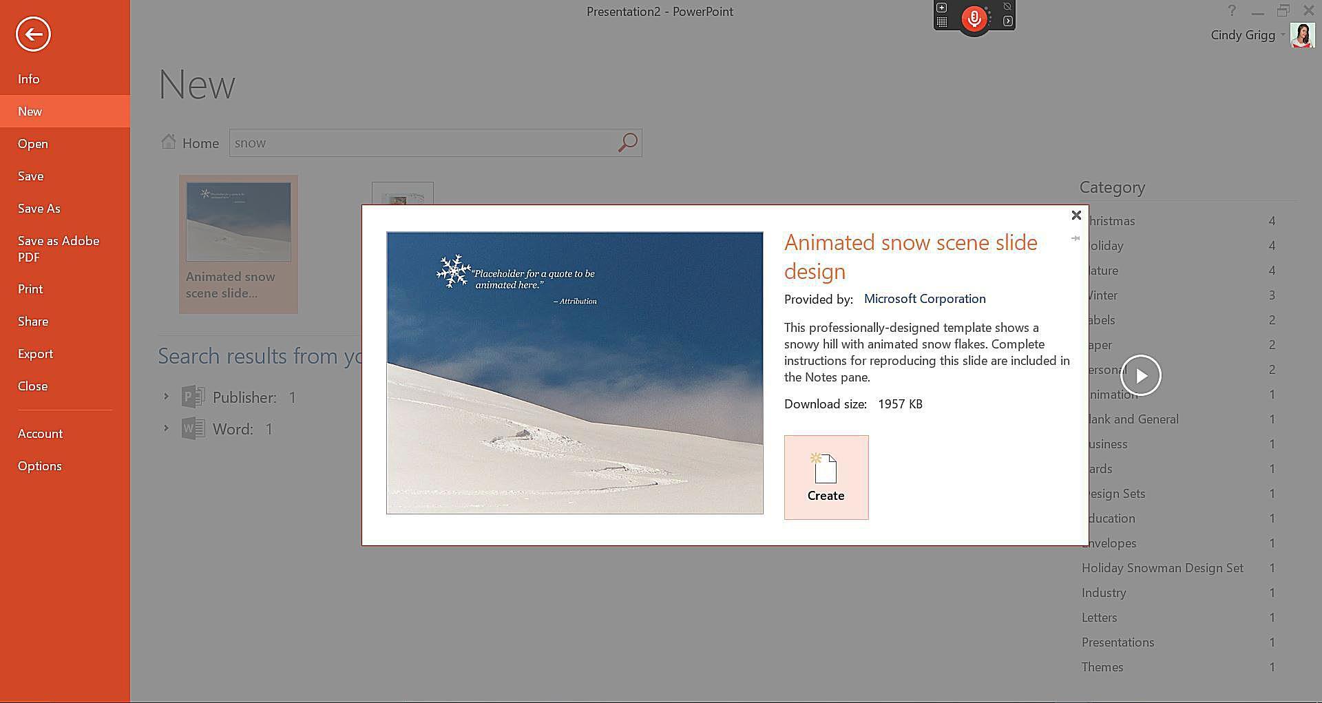 Free winter templates for microsoft office toneelgroepblik Choice Image