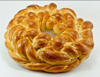 Romanian Easter Bread With Cheese Recipe Pasca