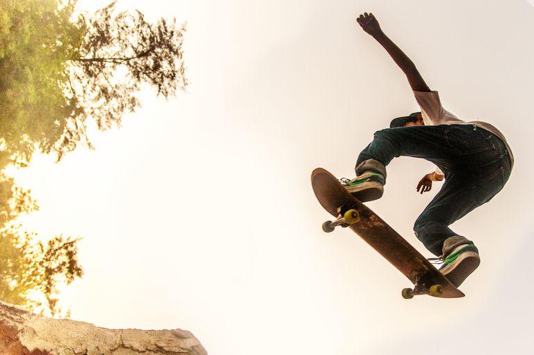List of the lightest skateboard decks teenage boy performing stunt on skateboard aloadofball Image collections