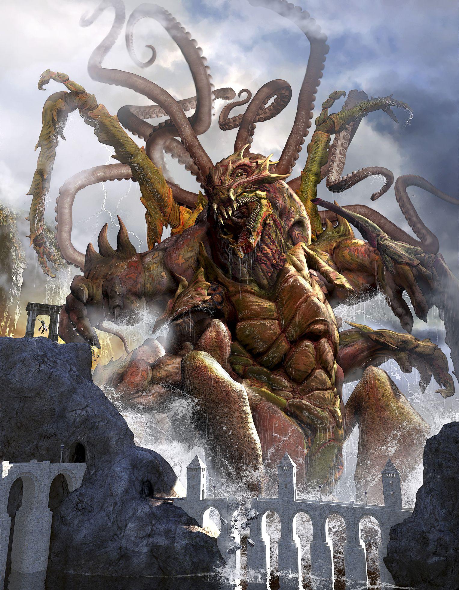 Kraken Mythologie