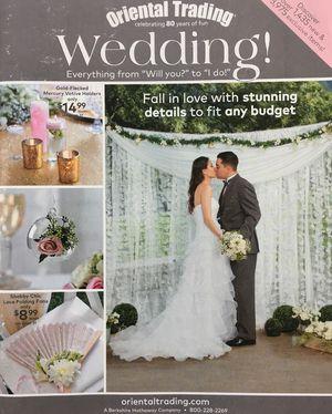 6 free wedding catalogs for planning ideas oriental trading wedding catalog junglespirit Images