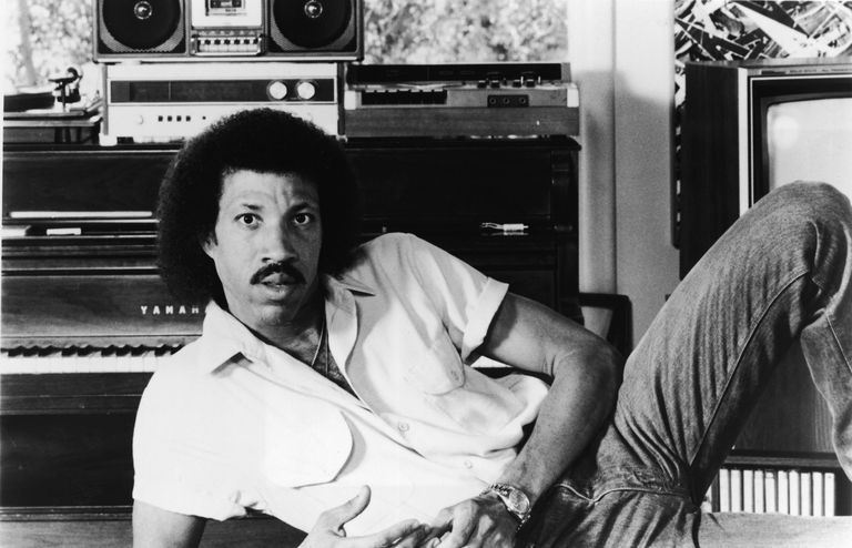 History of jeans - Lionel Richie 1980s