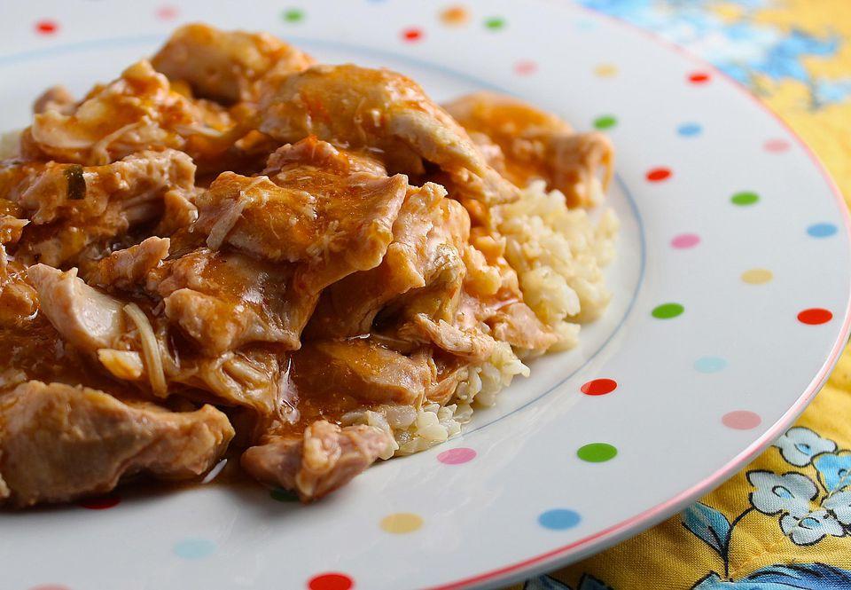 Salsa Crockpot Chicken