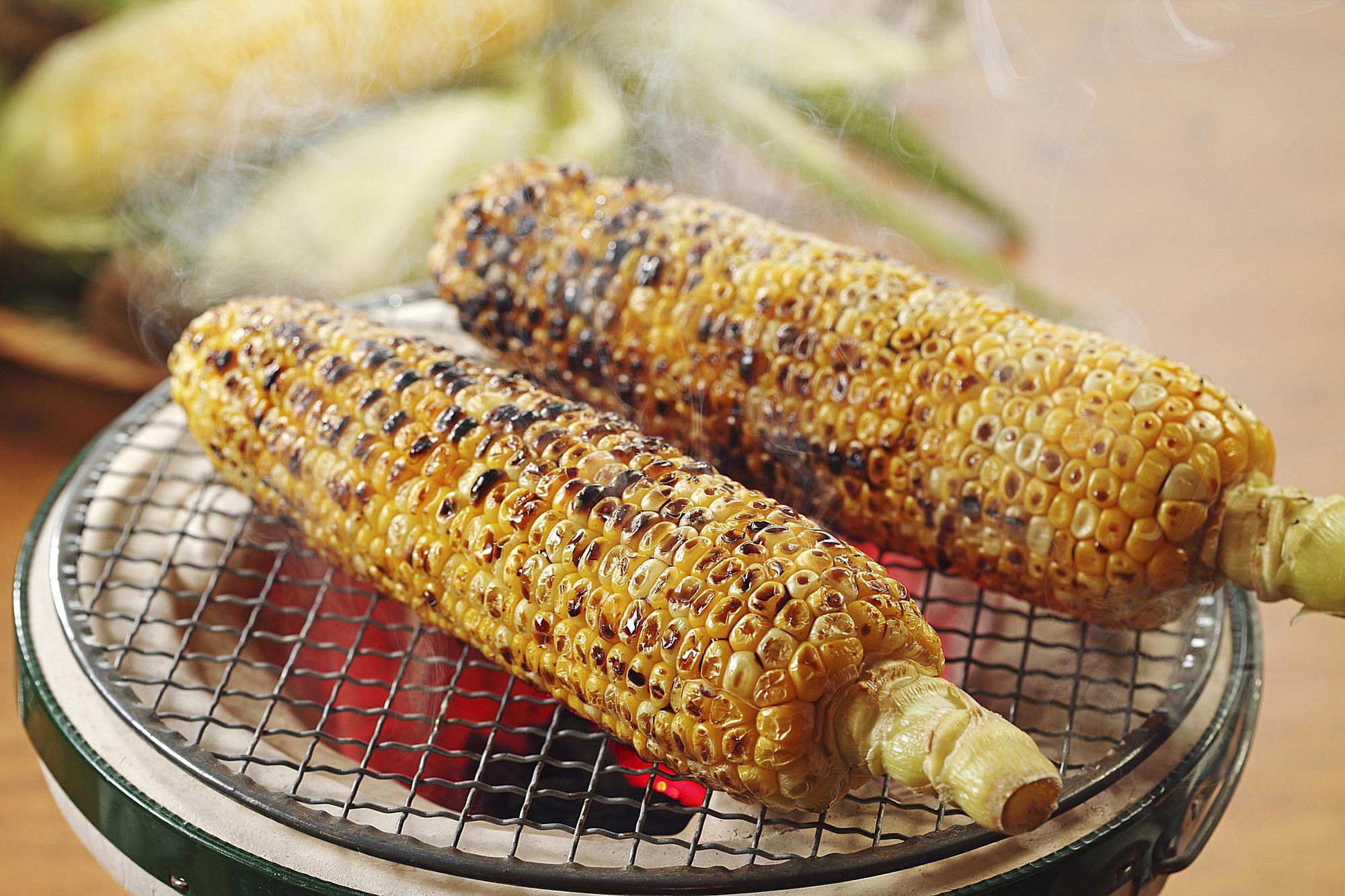Easy Asian Corn On The Cob With Garlic Soy Glaze Recipe