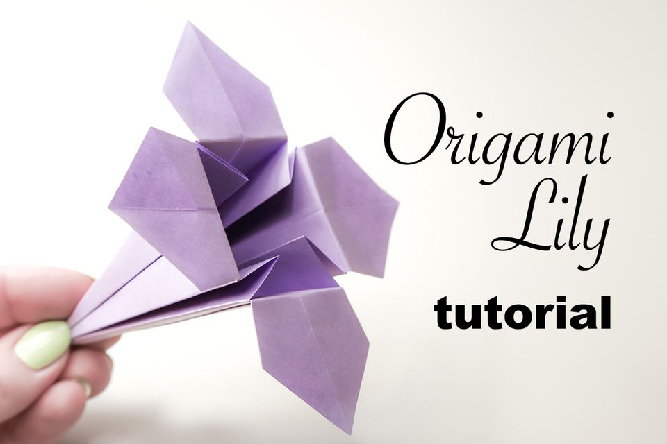 Origami Lily Instructions