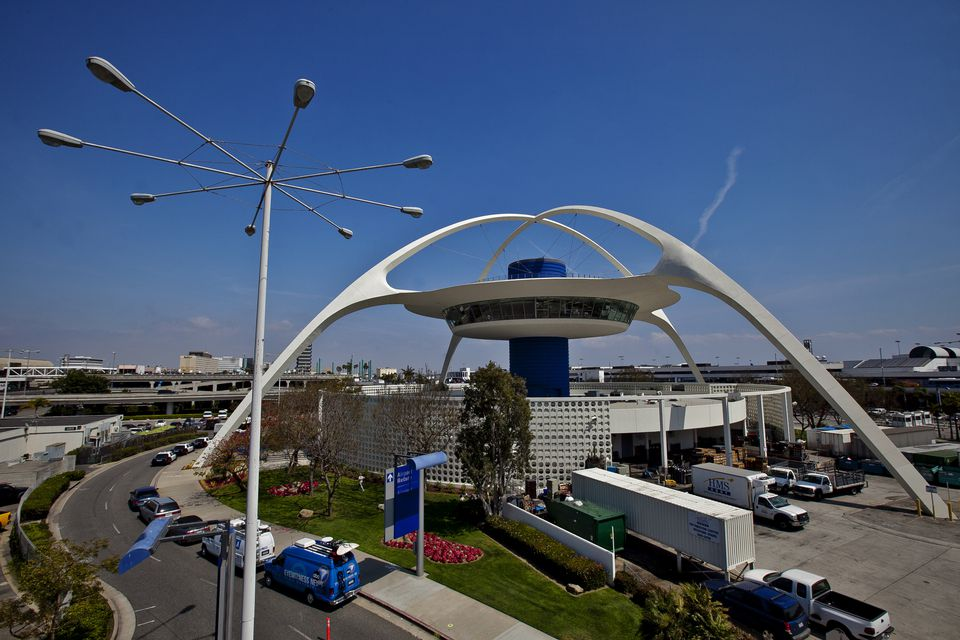 USA - Transportation - 'Theme Building' at Los Angeles International Airport