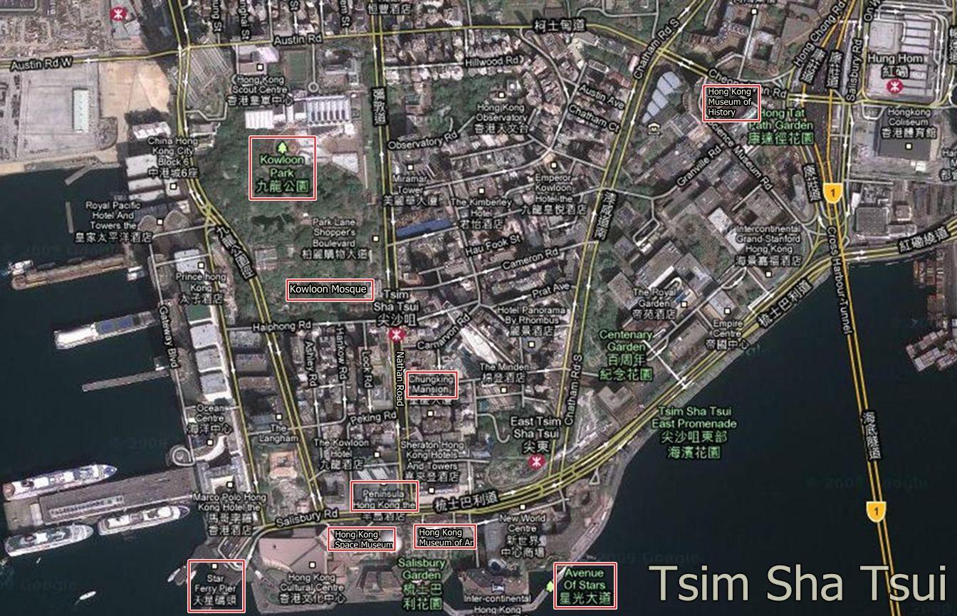 Tsim Sha Tsui Hong Kong Attractions