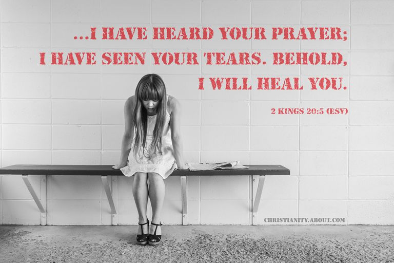 God Hears Our Prayers - 2 Kings 20:5 - Verse of the Day