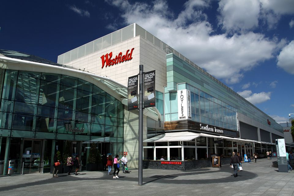 Shopping Mall at Westfield London