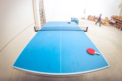 Plans for building your own table tennis or ping pong table - How much space for a ping pong table ...