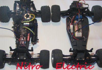 Traxxas Rustler 1:8 Scale Stadium Truck - Nitro and Electric versions