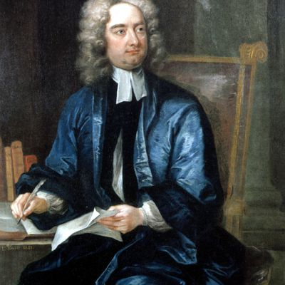 jonathan swift essay A modest proposal begins by lamenting the sad fate of the poverty-stricken irish who have to spend all their time looking for food to stuff in their kids' mouths luckily, the author has come up with an excellent way to put the brats to good use: raise them as food for wealthy citizens really, it.