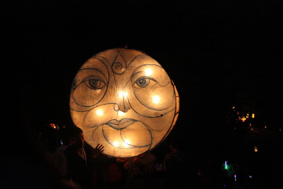 Renfrew Ravine Moon Festival in Vancouver, BC