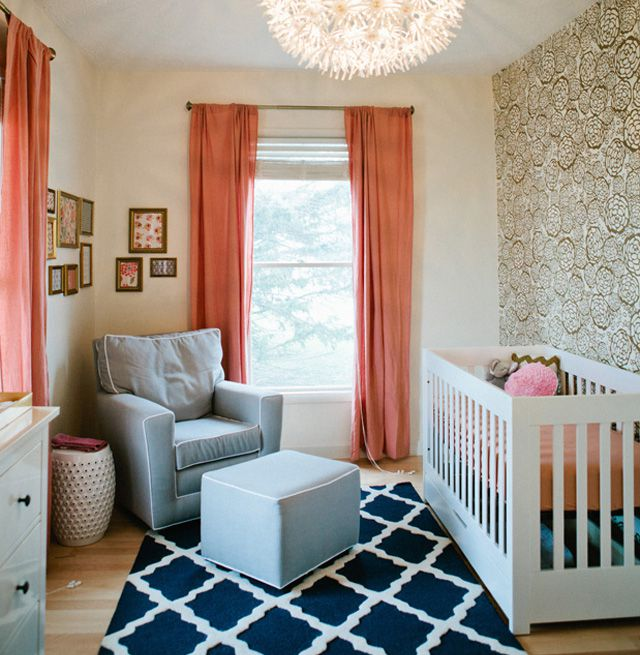 Your Little One Will Love These 8 Gender Neutral Nurseries: 6 Ways To Rock The Metallic Gold Nursery Trend