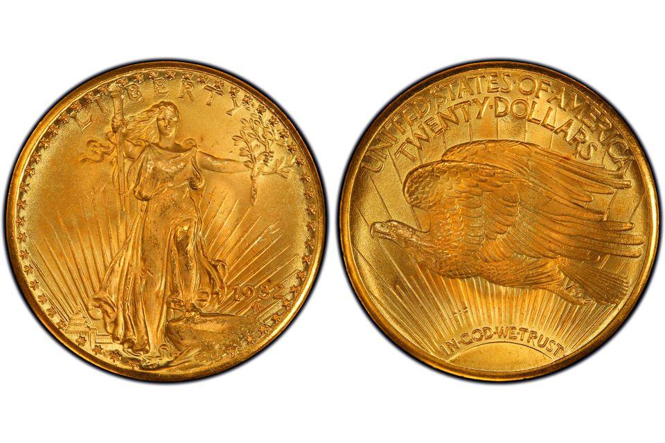 1932 St. Gaudens Double Eagle $20 Gold Piece