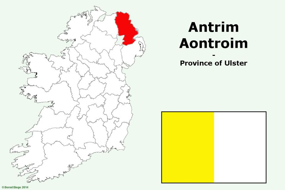 Putting County Antrim on the Irish Map
