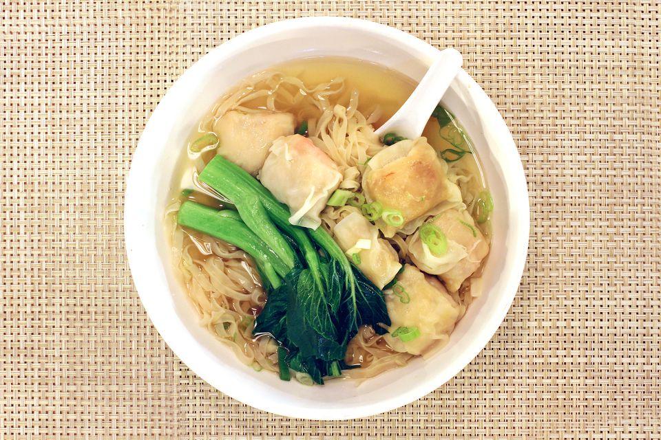Chinese Wonton Soup Noodles