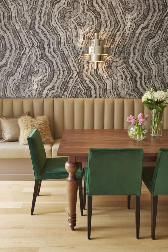 Wallpaper For Rooms Amazing 25 Amazing Dining Rooms With Wallpaper