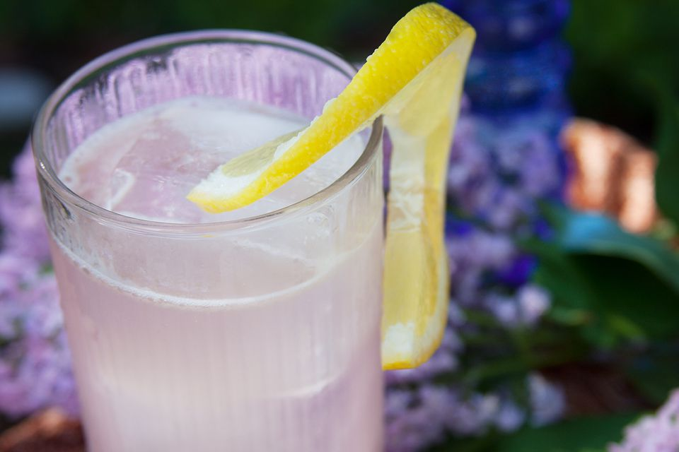 Colleen Graham's Lilac Shandy Drink Recipe