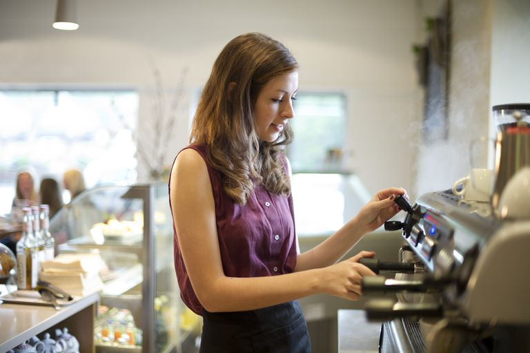 coffee shop teenager