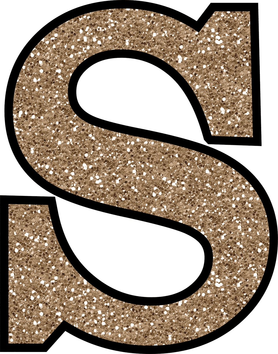 the letter s free glitter alphabet to and print 801
