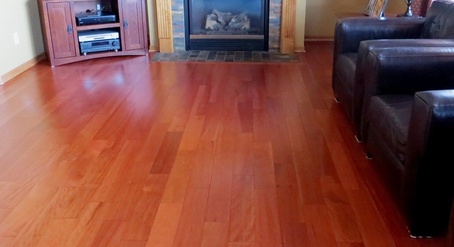 Malaccan cherry vs brazilian cherry flooring for Cherry hardwood flooring