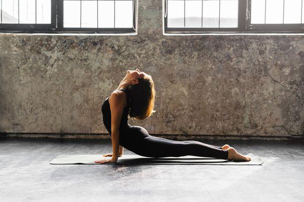 Yoga Transitions Upward Dog