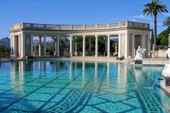 Pictures to make you want to visit hearst castle - Hearst castle neptune pool swim auction ...