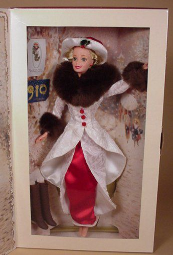 Holiday Memories Barbie In Box, 1995