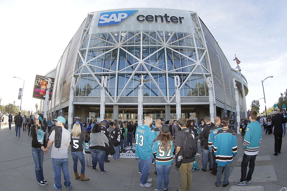 San Jose Sharks Hockey The SAP Center