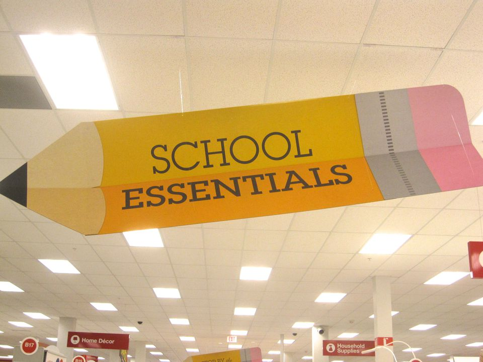 Back to school shopping in Vancouver, BC