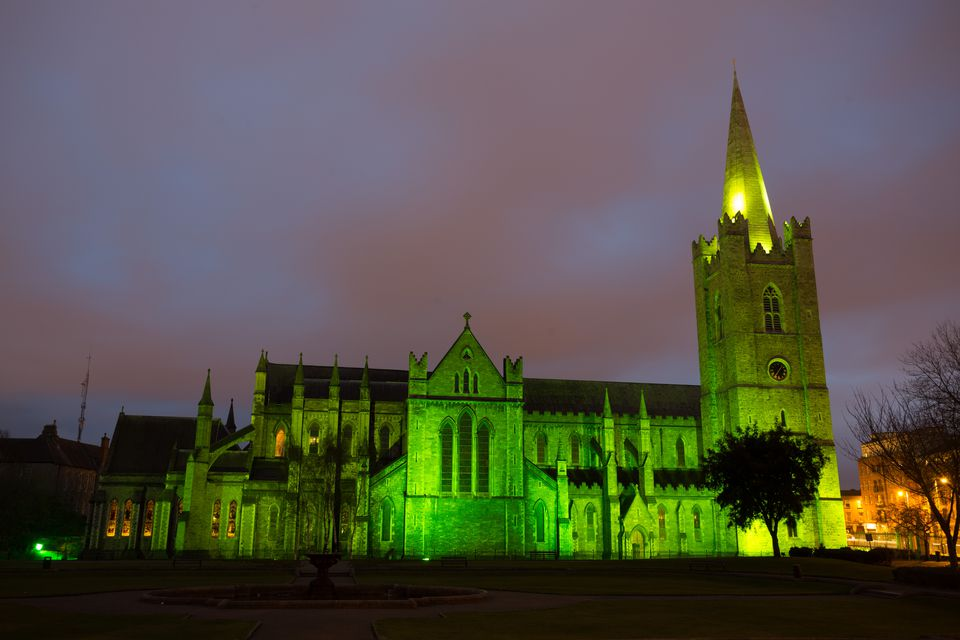 St Patrick's cathedral, Dublin City, Ireland
