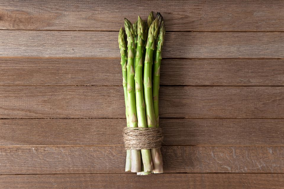 Asparagus in Twine