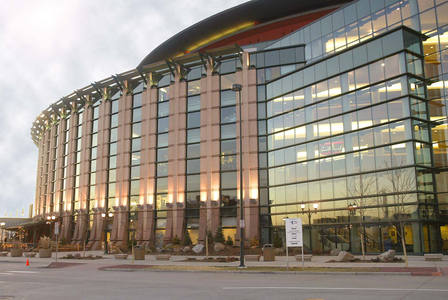 big buildings designed for sports and entertainment