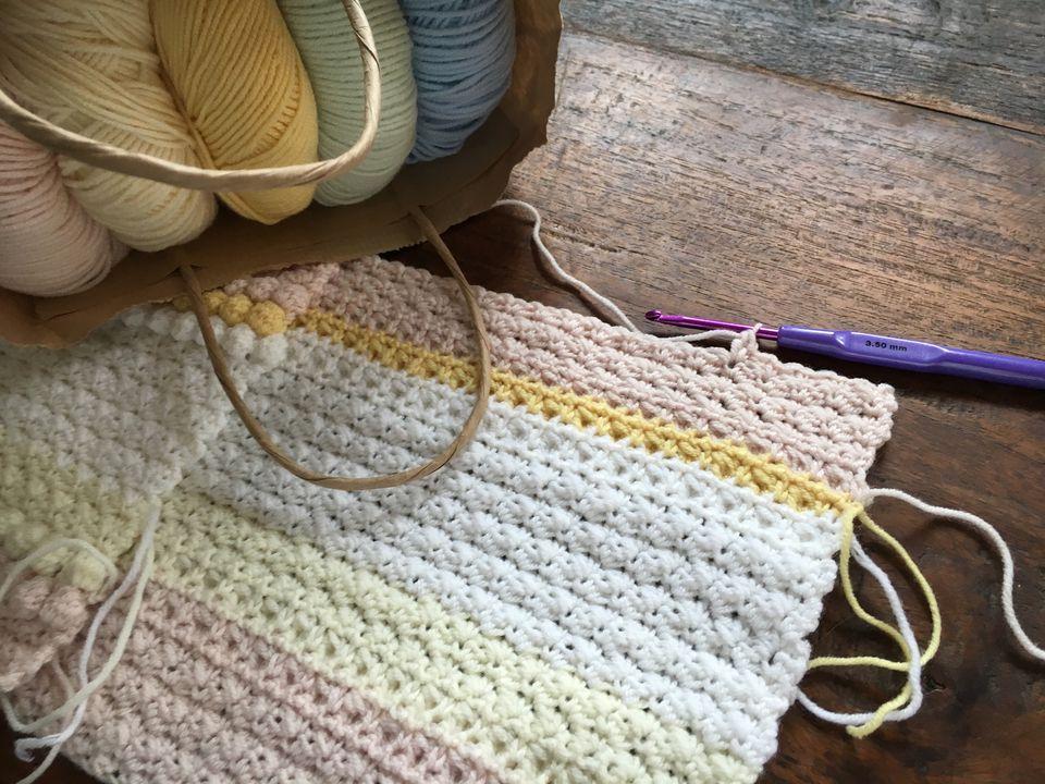 beginner crochet blanket instructions