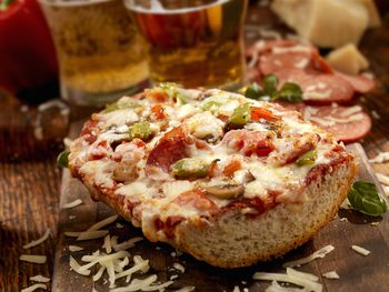Meatloaf French Bread Pizza Is An Easy Leftovers Recipe