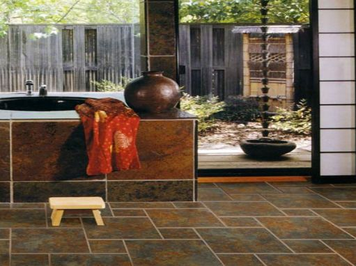 Floating Tile Floor from SnapStone