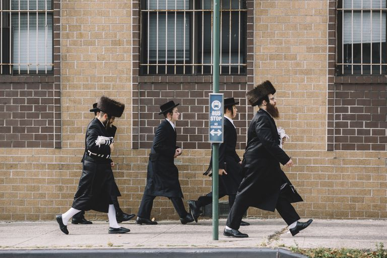 Hasidic community in Williamsburg, Brooklyn, NYC
