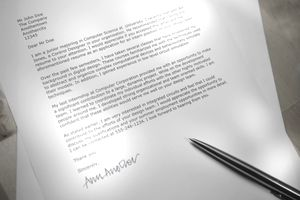 Business letter layout example spiritdancerdesigns Gallery