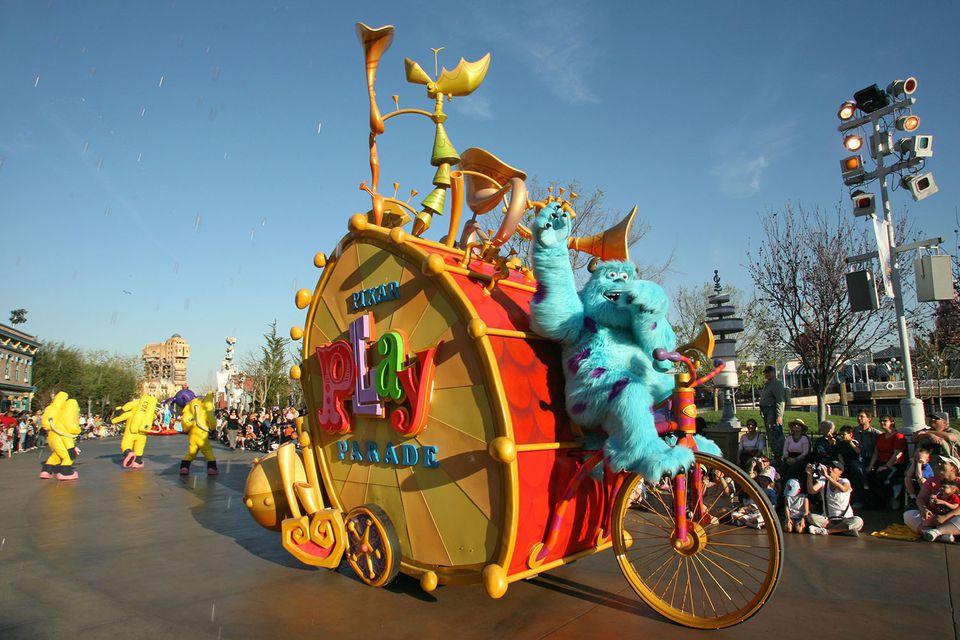 Pixar Play Parade at California Adventure