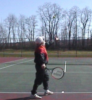 Tennis Topspin Serve Introduction and Grip
